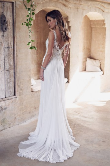 The Romantic & Sparkling Anna Campbell Wanderlust Wedding Dress Collection | Paige Dress (Silk Tulle Skirt)-2