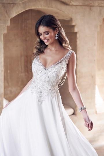 The Romantic & Sparkling Anna Campbell Wanderlust Wedding Dress Collection | Paige Dress (Summer Skirt)-3