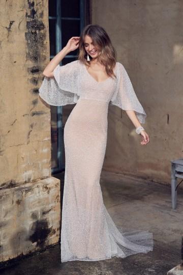 Wanda Dress (Draped Sleeve)-5