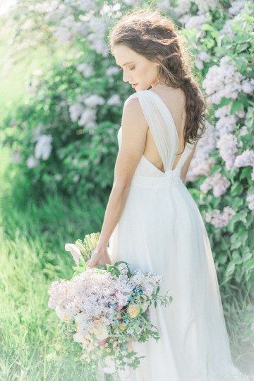 Beltane Goddess Bridal Inspiration With Lilacs And Horses – Gabriela Jarkovska 26