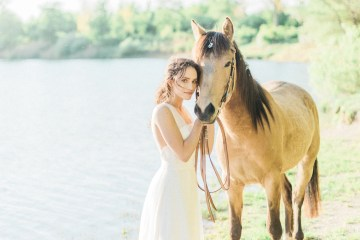 Beltane Goddess Bridal Inspiration With Lilacs And Horses – Gabriela Jarkovska 4