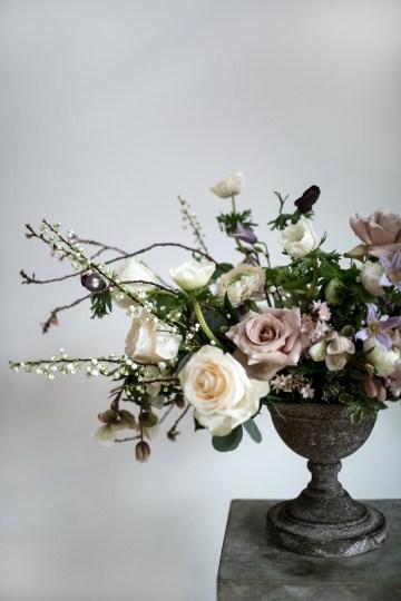 Celestial Ballerina Meets Art Gallery Wedding Inspiration   Alleksana Photography 13