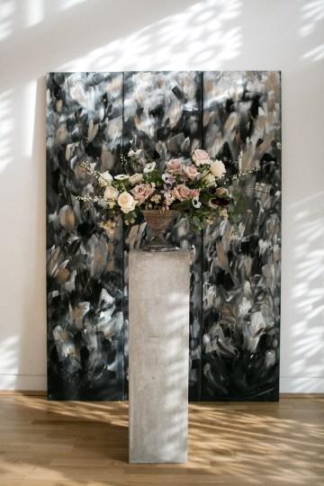 Celestial Ballerina Meets Art Gallery Wedding Inspiration   Alleksana Photography 24