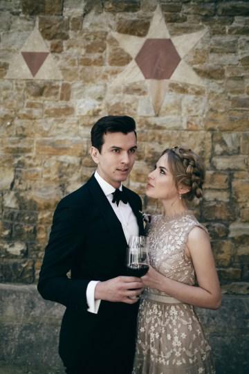 Celestial Ballerina Meets Art Gallery Wedding Inspiration   Alleksana Photography 32