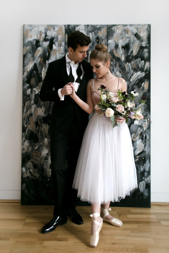 Celestial Ballerina Meets Art Gallery Wedding Inspiration | Alleksana Photography 47
