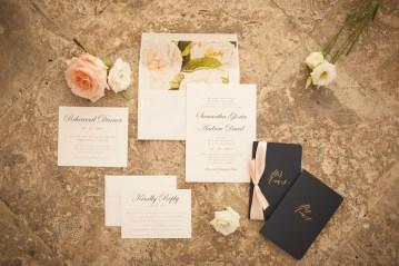 Elegant Pretty Pink Beach Wedding | Stephanie Smith 1