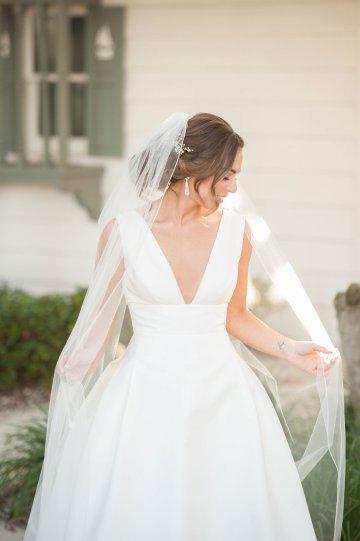 Elegant Pretty Pink Beach Wedding | Stephanie Smith 36