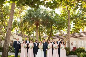 Elegant Pretty Pink Beach Wedding | Stephanie Smith 7
