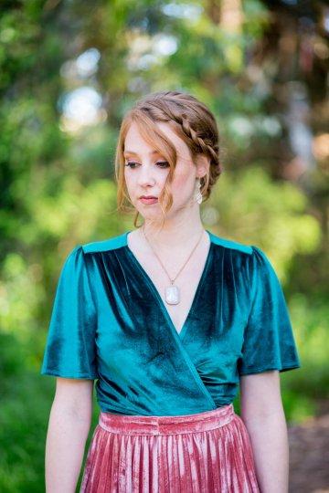 Emerald Green Elopement Inspiration – CMSours Photography 42