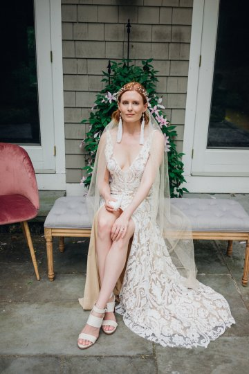High Style; Luxurious Weed Wedding Ideas | Claire Eliza | High Herstory | Sarah Seven 14