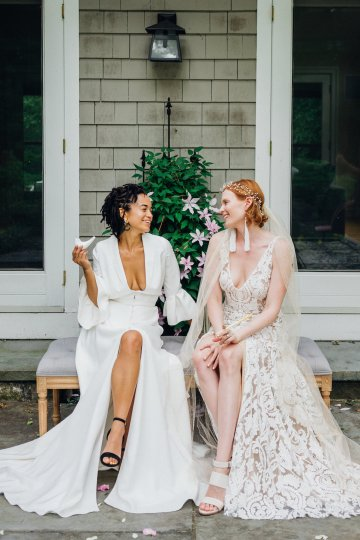 High Style; Luxurious Weed Wedding Ideas | Claire Eliza | High Herstory | Sarah Seven 21