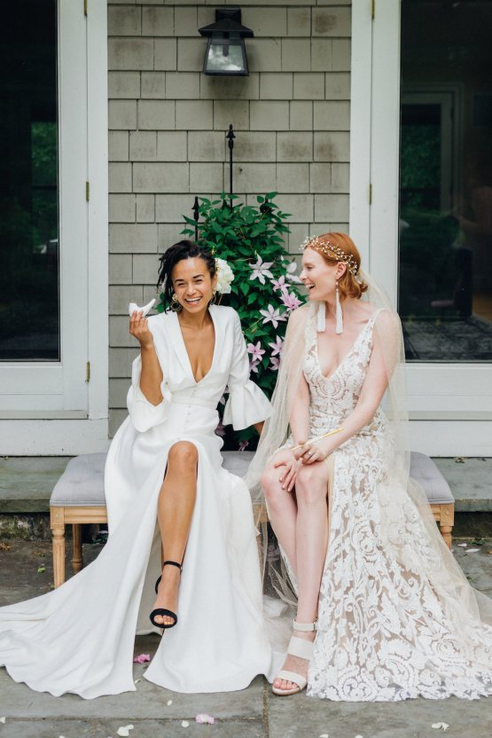 High Style; Luxurious Weed Wedding Ideas | Claire Eliza | High Herstory | Sarah Seven 23