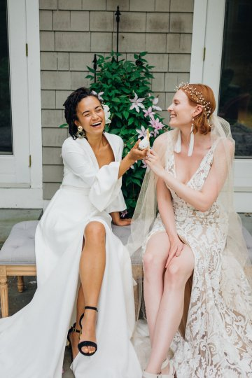 High Style; Luxurious Weed Wedding Ideas | Claire Eliza | High Herstory | Sarah Seven 25