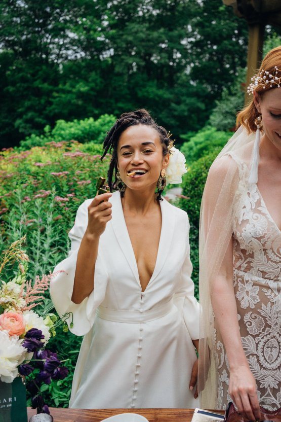 High Style; Luxurious Weed Wedding Ideas | Claire Eliza | High Herstory | Sarah Seven 58