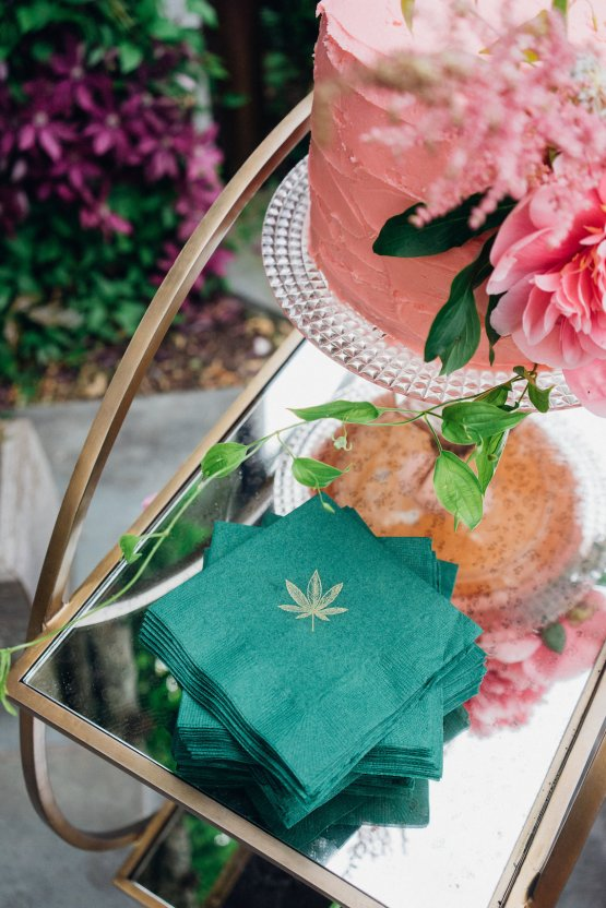 High Style; Luxurious Weed Wedding Ideas | Claire Eliza | High Herstory | Sarah Seven 73