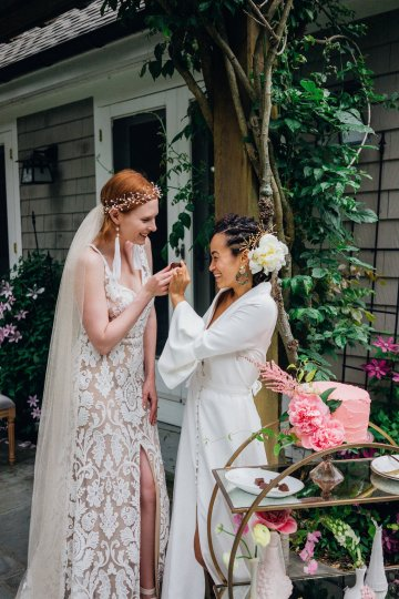 High Style; Luxurious Weed Wedding Ideas | Claire Eliza | High Herstory | Sarah Seven 82