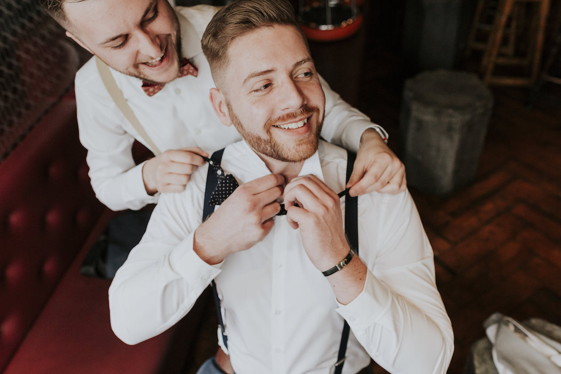 Industrial Copper Cocktail Bar Groom Inspiration | Joasis Photography | ByChenai 1
