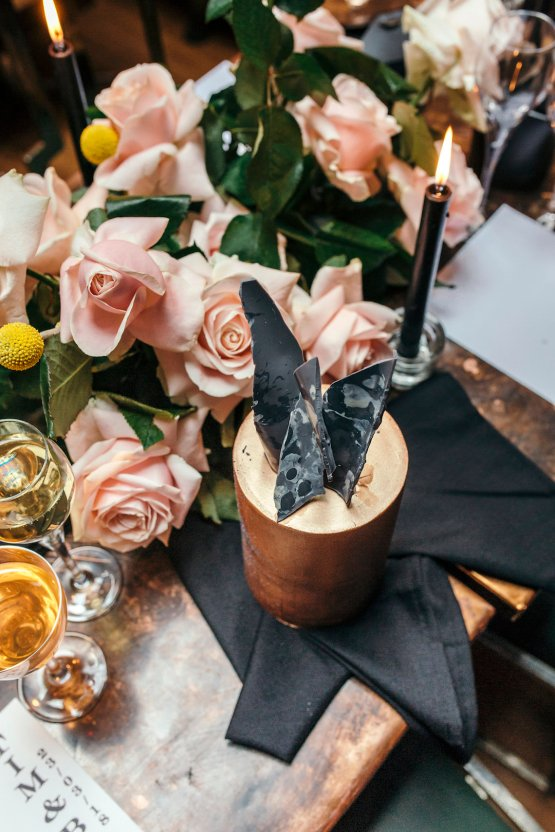Industrial Copper Cocktail Bar Groom Inspiration | Joasis Photography | ByChenai 39