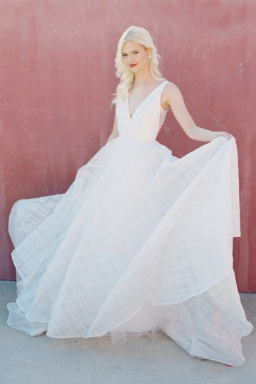 Jenny by Jenny Yoo's Fresh and Totally Modern Wedding Dress Collection | Avery 2