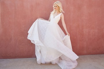 Jenny by Jenny Yoo's Fresh and Totally Modern Wedding Dress Collection | Avery