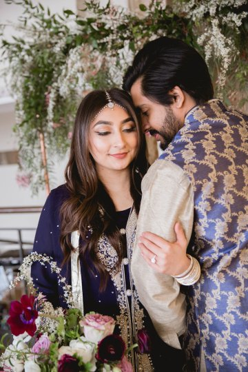 Multicultural Purple and Gold Bollywood Wedding Inspiration – Willow and Ivy Events – Zainab Rikabi 8