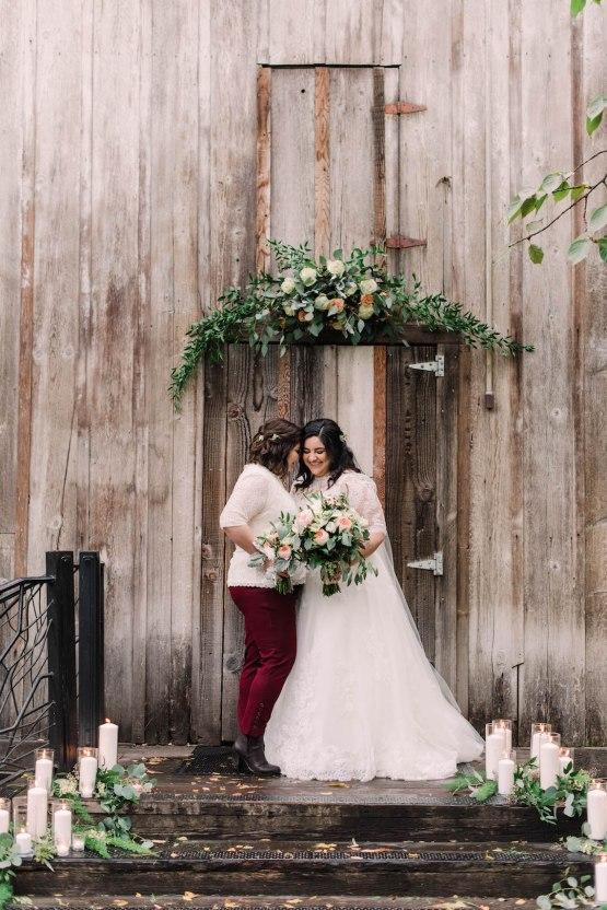 Rustic Barn Wedding Filled With Greenery   Deyla Huss Photography 15