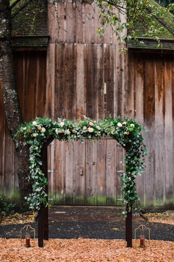Rustic Barn Wedding Filled With Greenery   Deyla Huss Photography 20