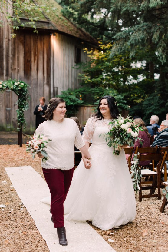 Rustic Barn Wedding Filled With Greenery   Deyla Huss Photography 29