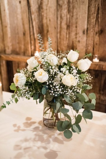 Rustic Barn Wedding Filled With Greenery | Deyla Huss Photography 42