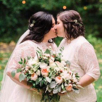 Rustic Barn Wedding Filled With Greenery   Deyla Huss Photography 5