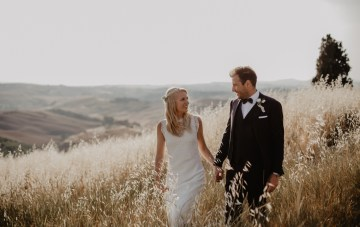 Rustic, Dreamy & Intimate Italian Destination Wedding