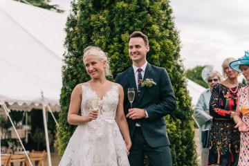 Rustic English Countryside Marquee Wedding | Babb Photo 12