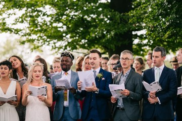 Rustic English Countryside Marquee Wedding | Babb Photo 6