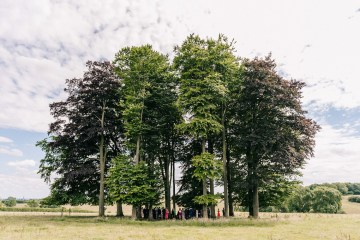 Rustic English Countryside Marquee Wedding | Babb Photo 7