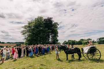 Rustic English Countryside Marquee Wedding | Babb Photo 9