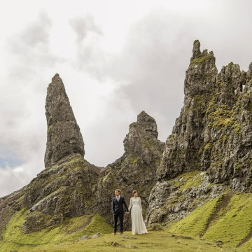 Wild & Adventurous Isle of Skye Elopement | Your Adventure Wedding 17