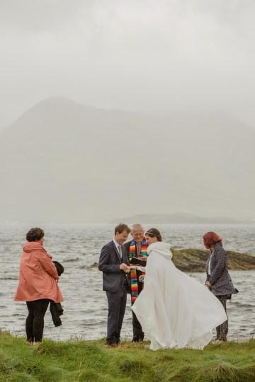 Wild & Adventurous Isle of Skye Elopement   Your Adventure Wedding 19