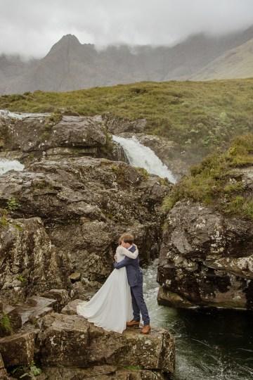 Wild & Adventurous Isle of Skye Elopement   Your Adventure Wedding 23