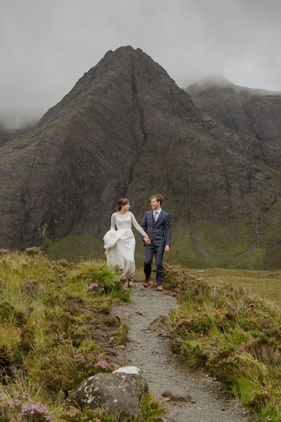 Wild & Adventurous Isle of Skye Elopement | Your Adventure Wedding 25