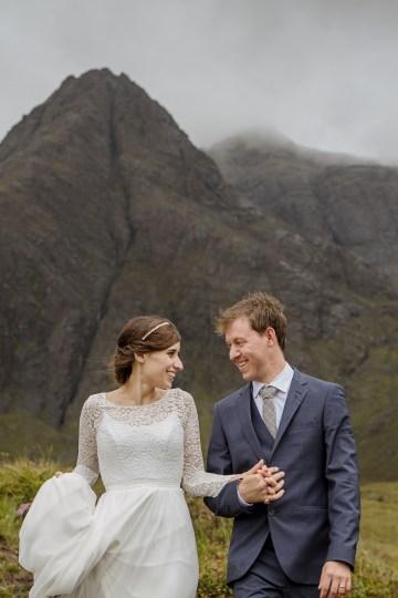 Wild & Adventurous Isle of Skye Elopement   Your Adventure Wedding 26