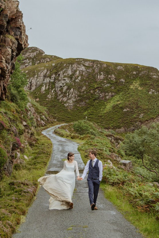 Wild & Adventurous Isle of Skye Elopement | Your Adventure Wedding 32