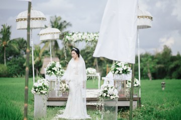 Zen Balinese Wedding Inspiration With A Dazzling Tiara | Nej Photo | Chere Weddings 2