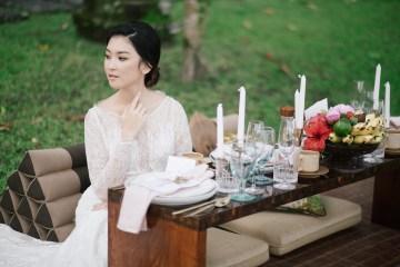 Zen Balinese Wedding Inspiration With A Dazzling Tiara   Nej Photo   Chere Weddings 3