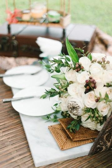 Zen Balinese Wedding Inspiration With A Dazzling Tiara   Nej Photo   Chere Weddings 49