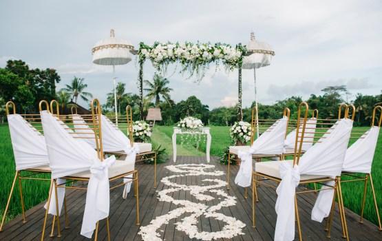 Authentic Balinese Rice Paddy Wedding Inspiration