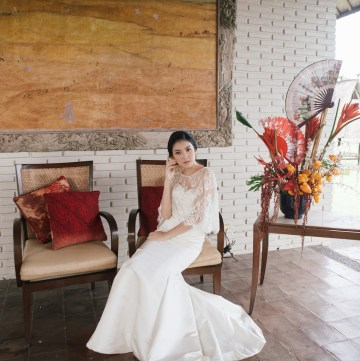 Zen Balinese Wedding Inspiration With A Dazzling Tiara   Nej Photo   Chere Weddings 8