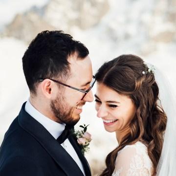 Charming Chamonix Winter Wedding With A Fur Coat – Katie Mitchell 21