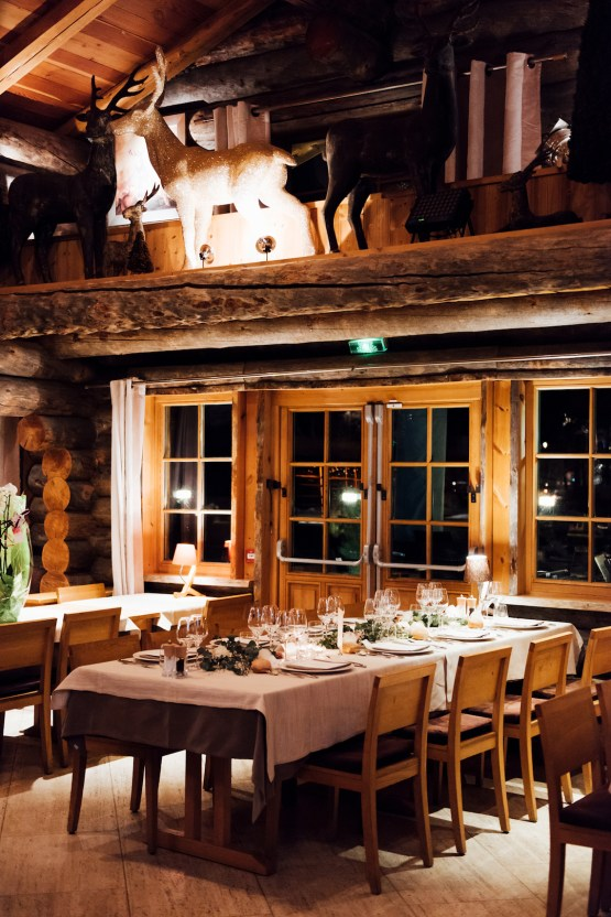 Charming Chamonix Winter Wedding With A Fur Coat – Katie Mitchell 23