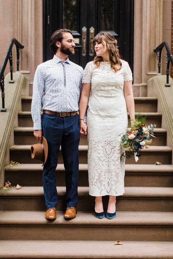 Country Western Meets Hip Brooklyn Elopement – Common Dove Photography 14