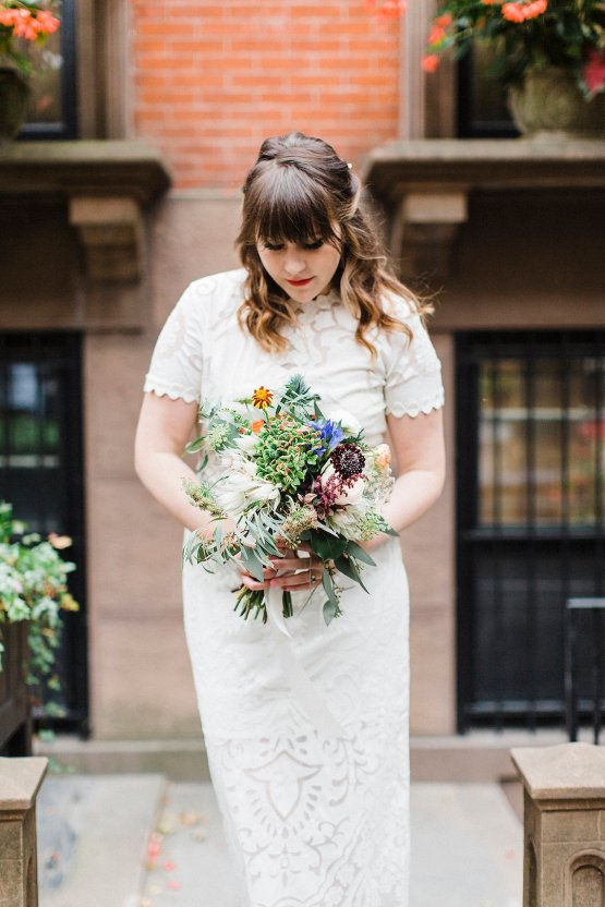 Country Western Meets Hip Brooklyn Elopement – Common Dove Photography 15
